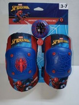 New Marvel Spider-Man Protective Gear and Bicycle Bell & Knee + Elbow Pads - $18.76