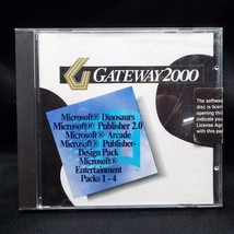 Gateway 2000 Microsoft Dinosaurs Publisher 2.0 Arcade Entertainment Pack... - $29.99