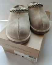 VG GENUINE Kid's UGG Tasman Slippers Sz 12 Sand (Beige/Cream) w/Box Mini... - $49.49