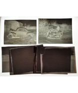 1947 antique CHEVY SEDAN car CRASH PHOTO NEGS amherst ny Wherle & Youngs... - $48.50