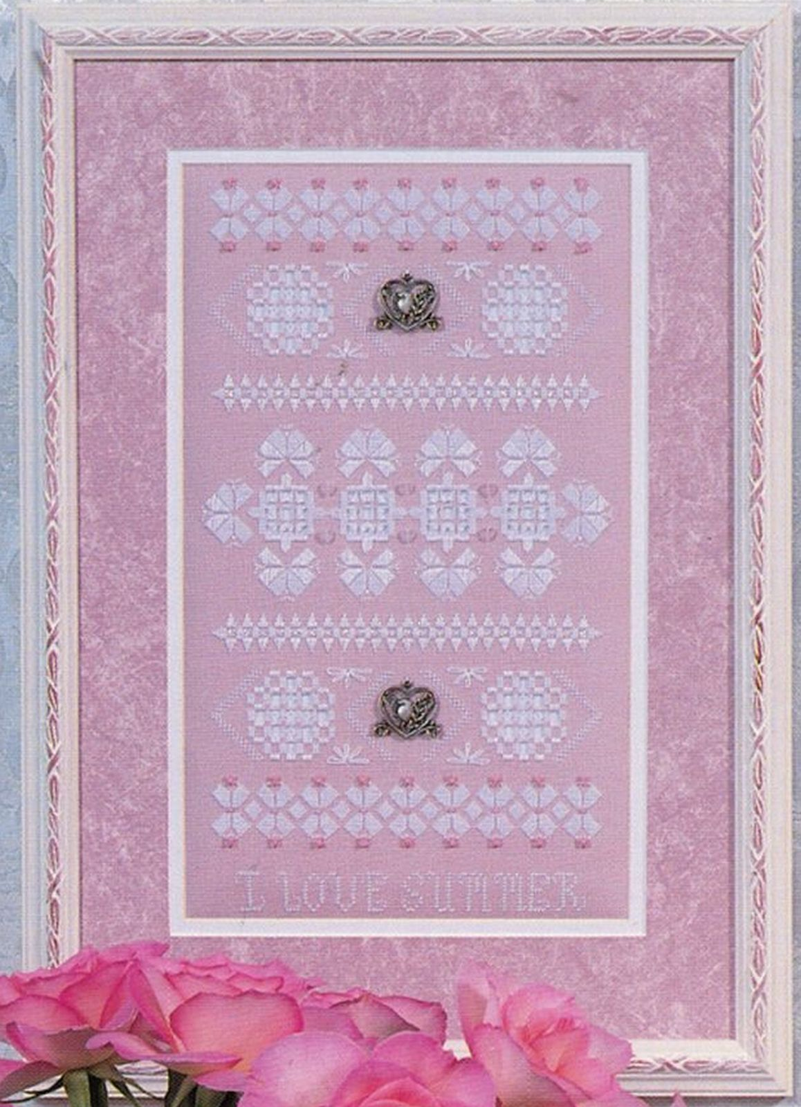 I Love Summer Hardanger Embroidery Seasonal Sampler Rosalyn Watnemo Book image 2