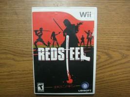RedSteel Red Steel Nintendo Wii Action Adventure Game - $14.25