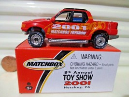 Matchbox 2001 Hershey Toy Show Ford Explorer Mint In Dented Near Mint Box* - $25.73
