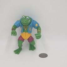 1989 Vintage vtg Genghis Frog TMNT Action Figure Playmates Toys - $3.96