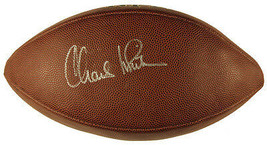 Charles White Signed Full Size Wilson NFL Football USC Cleveland Browns ... - $97.23