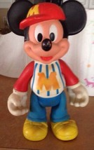 Walt Disney Productions Mickey Mouse Rubber Doll  - $32.99