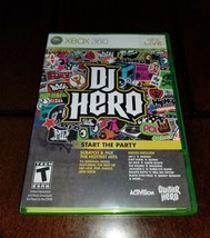 DJ Hero Xbox 360 NM **Inv01553** - $5.40