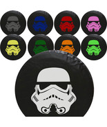 Star Wars Stormtrooper Tire Cover -STANDARD- We Need Tire Size and Color... - $59.95