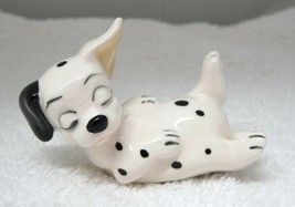 Walt Disney Productions Japan 101 Dalmatians Puppy Sleeping on Back Pott... - $34.65