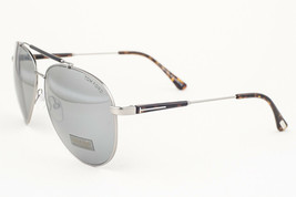 Tom Ford Rick Gunmetal / Gray Mirrored Sunglasses TF378 14Q - $195.02