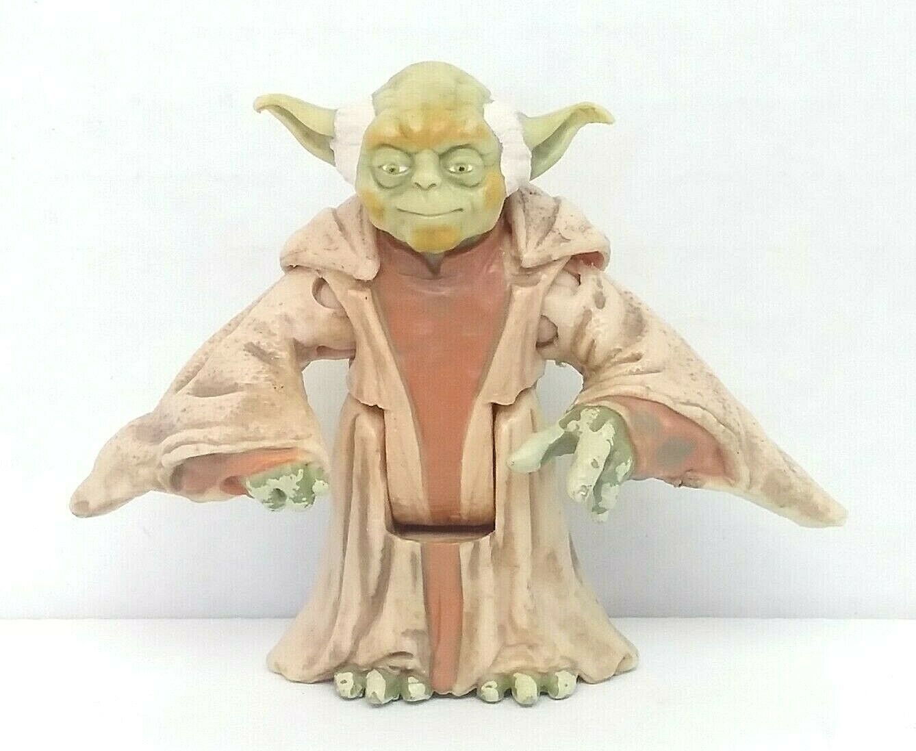 "Primary image for Star Wars LFL Yoda 2"" Action Figure 1999 Hasbro Used"