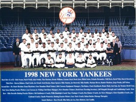 1998 NEW YORK YANKEES 8X10 TEAM PHOTO BASEBALL PICTURE NY MLB - $3.95
