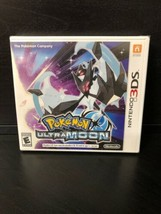 Pokemon Ultra Moon Nintendo 3DS 2017 Video Game New Factory Sealed - $39.55
