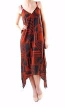 The Fifth Women's Lost Paradise Dress Dark Patchwork Print  Size S BCF64 - $48.50
