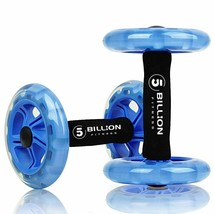 Abdominal Wheel Roller Elastic Training Rope Abs Workout Exerciser Fitne... - $62.36