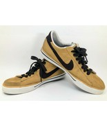 RARE Retro 2009 Nike 318333-721 Sweet Classic Leather Tan Sneakers Shoes... - £36.69 GBP