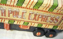 Vaillancourt Follk Art Santa Riding the North Pole Express  SIGNED!    no. 17036 image 6