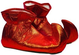 ELF SHOES CLOTH RED - $10.31