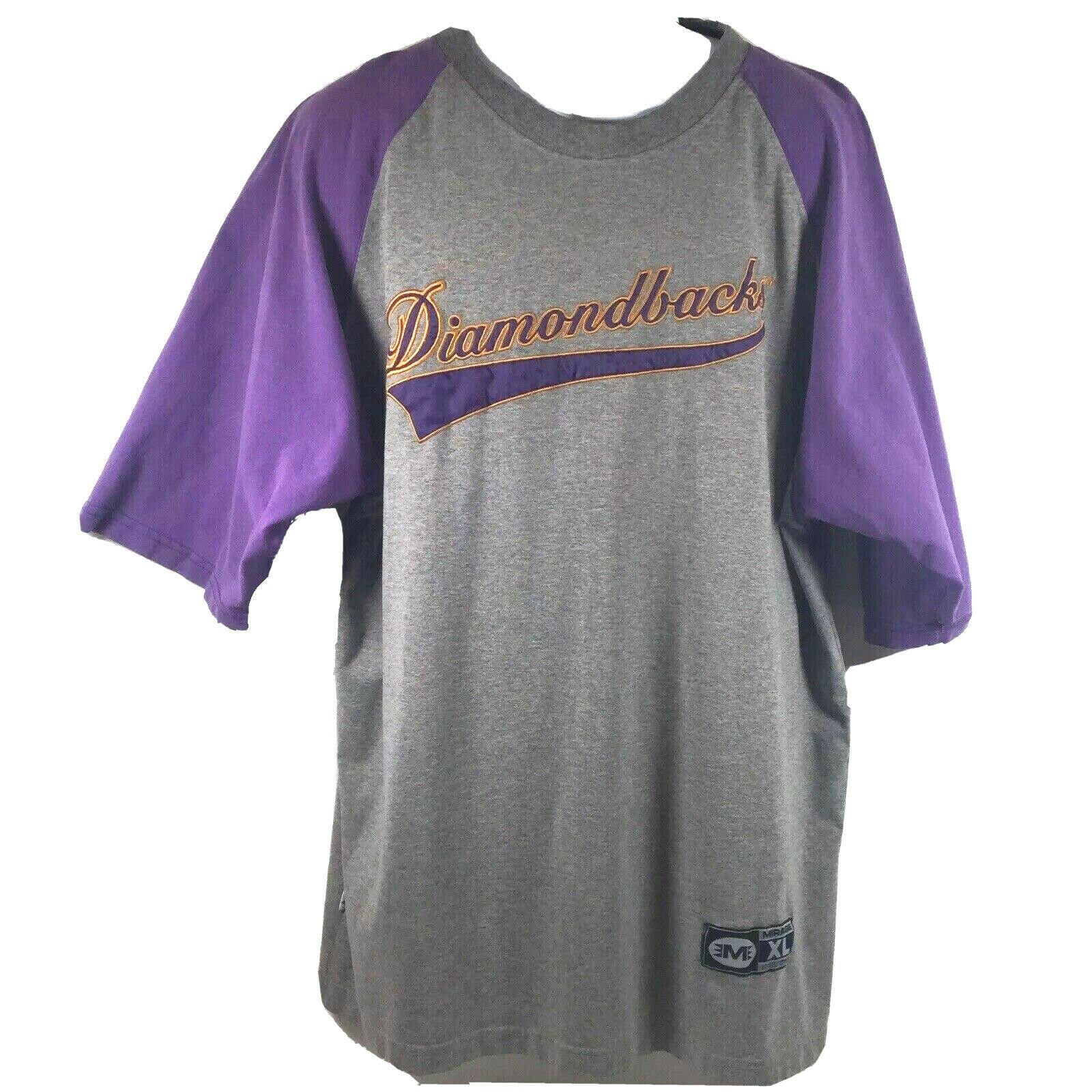 Primary image for Genuine MLB Arizona Diamondbacks Vintage 90s Sewn Script Logo T-Shirt Mens XL VG