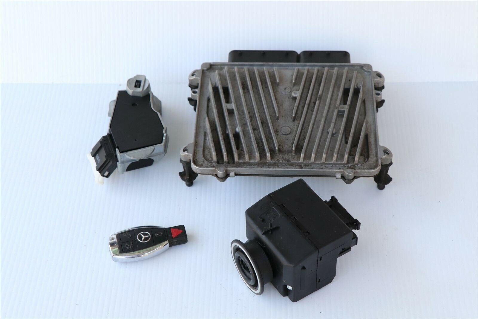 06 Mercedes W203 C230 ECU Engine Computer EIS Ignition FOB ISL Set 6spd Manual