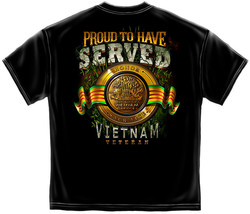 New Proud To Have Served Vietnam T Shirt - $19.99