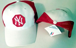 Old MLB New York Yankees Cap Hat Rare style Logo snapback Snap Back Mens New - $18.80