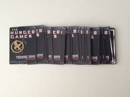 The Hunger Games Training Days Game 45 Challenge Cards Complete Set Replacement - $6.79