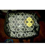 """Petunia Pickle Bottom  Yellow Flowered Large 14"""" x 16""""  Back Pack Diaper... - $13.86"""