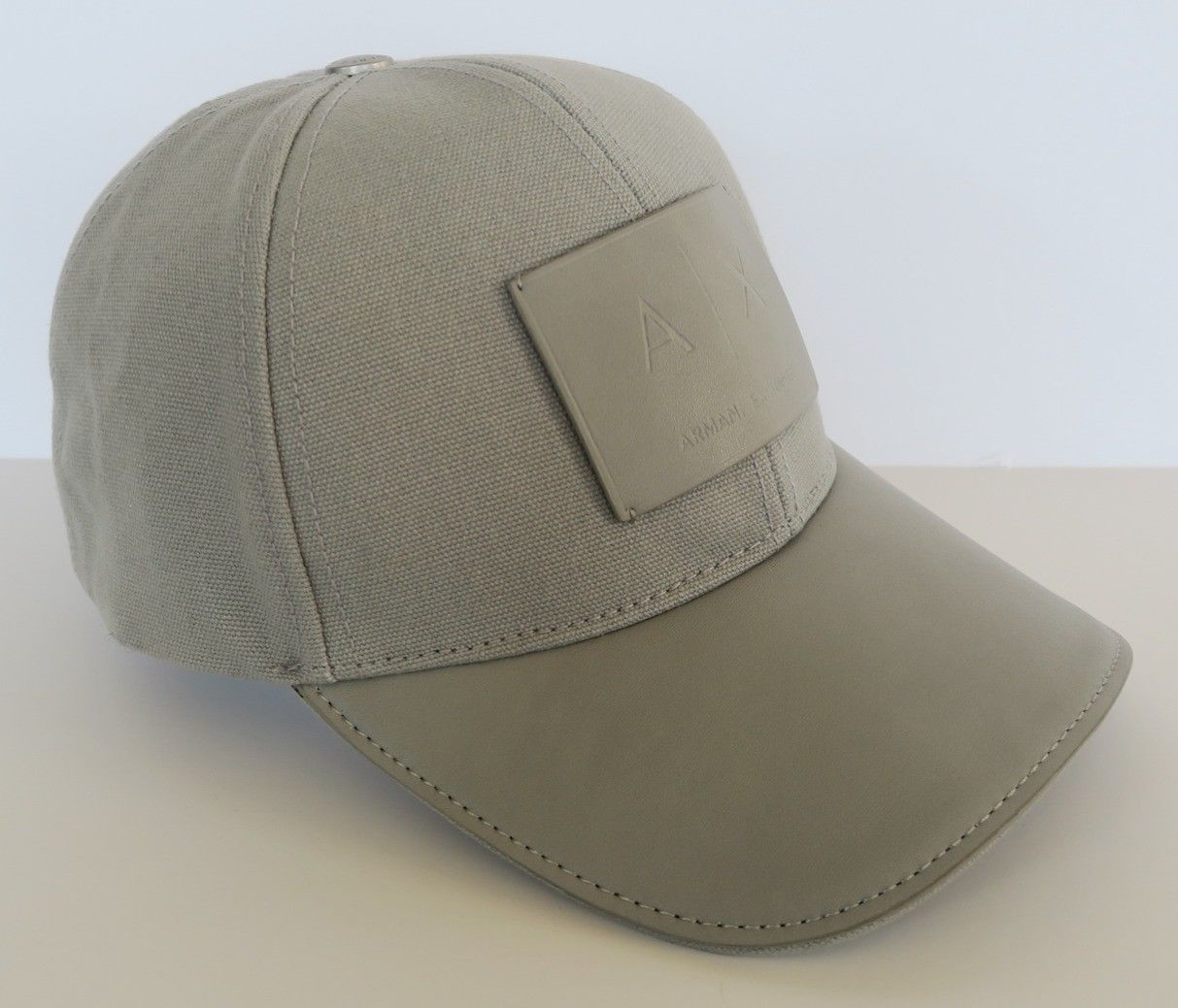 0e1fd19b7c4 Armani Exchange AIX Reversible Contrast Logo Classic Beanie Hat ...