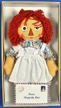 "Raggedy Ann Doll Commemorative Stamp 17"" Limited Edition 1997 Applause w... - $24.95"