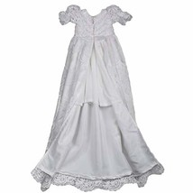 Lovely Lace Girls Christening Gowns Dresses 0-3 Months - $70.38