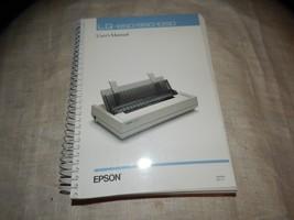 nt459) oem EPSON PRINTER SPIRAL-BOUND USER MANUAL FOR LQ-850, LQ-950, LQ... - $7.25