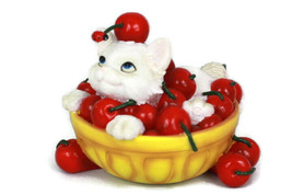 Enesco Life's A Bowl Full Of Cherries With You Charming Furr Figurine - $24.74