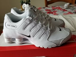 Nike Men's Shox NZ Shoes - White - $199.99
