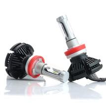 2pcs X3 LED Headlight Bulbs 50W 6000K 6000LM Premium Car Auto Headlamp L... - £35.31 GBP