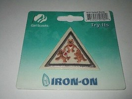 Girl Scout Brownie Iron On Badge ~  Caring & Sharing #59101 SEALED - $3.79