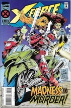 X-Force Comic Book #40 Marvel Comics 1994 Very FINE/NEAR Mint New Unread - $2.75