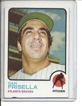 (b-31) 1973 Topps #432: Dan Frisella - Factory Error - Off-Set Cut - $5.00