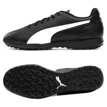 Puma Monarch TT Football Boots Soccer Cleats Shoes Black 10567401 - $70.99