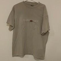 Mens XL MYRTLE BEACH SC Delta 100% Cotton SS Graphic T-Shirt Tee - $14.58