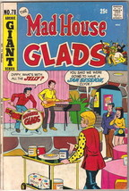 Mad House Glads Comic Book #78, Archie 1971 FINE- - $5.94