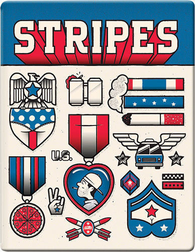 Stripes Future Shop Exclusive SteelBook [Blu-ray]