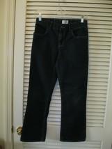 Boys Childrens Place Dark Wash Denim Bootcut Jeans Size 12 Adjustable Waist - $13.99