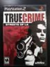 True Crime: Streets of L.A. (Sony PlayStation 2, 2003) - $3.98