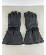 Joe Rocket Mens Riding Motorcycle Gloves M Medium Black Dry Tech Thinsul... - $29.69