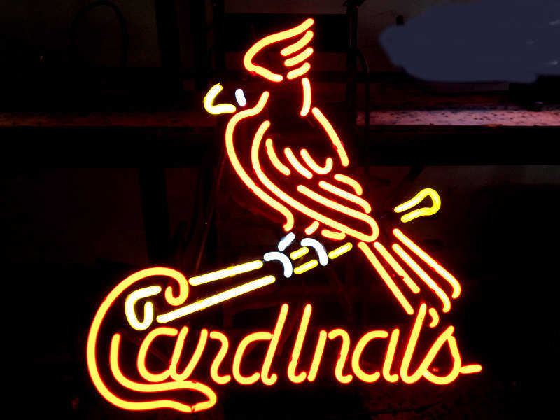 "Primary image for Brand New Cardinals Baseball Beer Bar Neon Light Sign 16""x14"" [High Quality]"