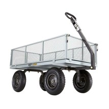 Garden Beautification Tool in Heavy Duty Steel Utility Cart with Removab... - $127.41