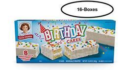 Little Debbie Birthday Cakes (16 boxes) - $53.99