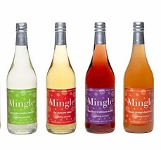 Mingle Mocktails Non Alcoholic Cocktails - 4 Bottle Variety Pack of 750m... - $100.83