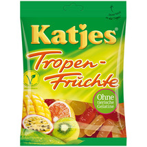 Katjes Troppen Fruchte/ Tropical Fruits gummy bears FREE SHIPPING - $7.69